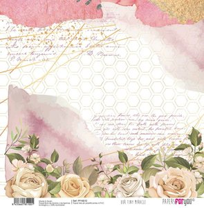 """Papel Tela 12x12"""" Papers For You Our Tiny Miracle 4"""