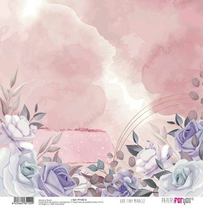 """Papel Tela 12x12"""" Papers For You Our Tiny Miracle 6"""