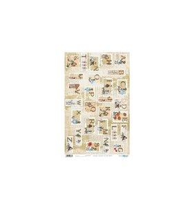 Papel cartonaje 32x48,3 cm Abecedarium