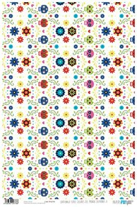 Papel Cartonaje Colores del Mundo Catrinas