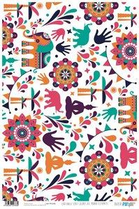 Papel Cartonaje Colores del Mundo Elefantes