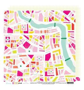 "Papel 12""x12"" Color Fresh Urban Jungle"