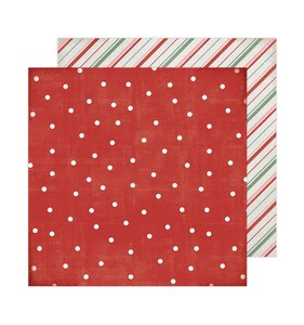 "Papel 12""x12"" Winter Wonderland Falalala"