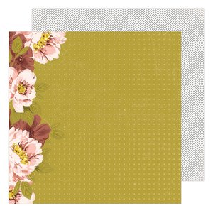 "Papel 12x12"" Honey & Spice Wallflower"