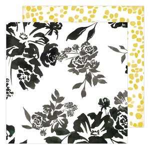"Papel 12x12"" Honey & Spice Flourish"