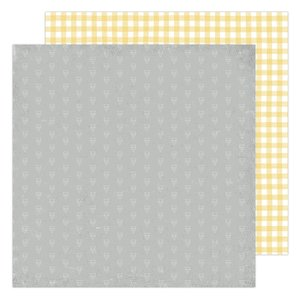 """Papel 12""""x12"""" Storyline Chapters Mellow Yellow"""