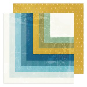 "Papel 12x12"" Summerland Old School de Heidi Swapp"