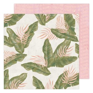 "Papel 12x12"" Urban Jungle Old School de Heidi Swapp"