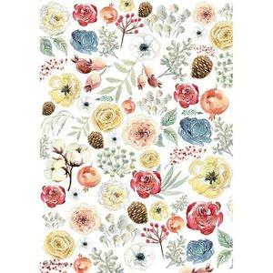 Papel de arroz A4 Flowers Col. Gratitud de Johanna Rivero