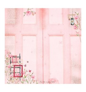 Princess Garden Pink Door