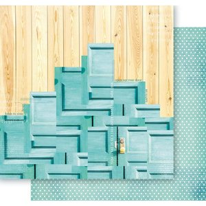 "Papel 12x12"" Holy Mint Days - Happiness Doors"