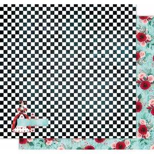 "Papel 12x12"" Wonderland de Kora Projects Chess Board"
