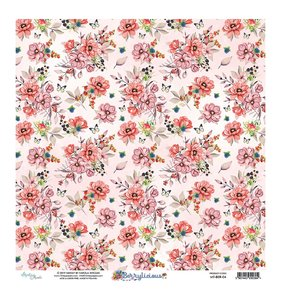 "Papel 12""x12"" Mintay Berrylicious 04"