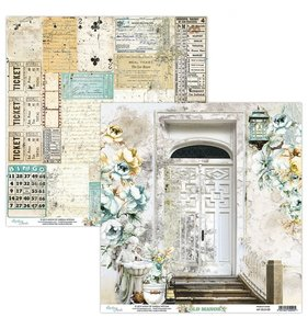 """Papel 12""""x12"""" Old Manor 02"""