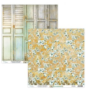 """Papel 12""""x12"""" Old Manor 04"""