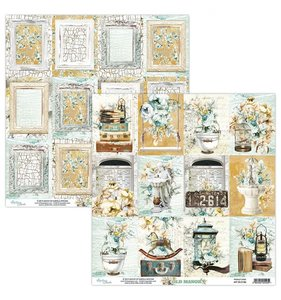 """Papel 12""""x12"""" Old Manor 06"""