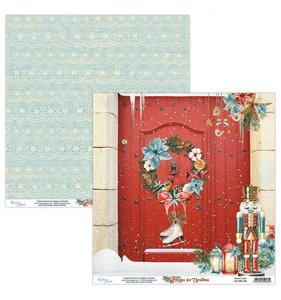 """Papel 12""""x12"""" Home For Christmas 02"""