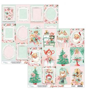 "Papel 12""x12"" Sweetest Christmas 06"