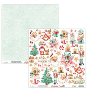 "Papel 12""x12"" Sweetest Christmas Elements"