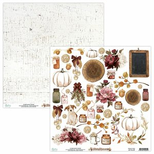 "Papel 12x12"" Mintay Col. Fall Festival Elements"