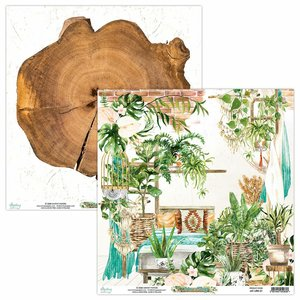 "Papel 12x12"" Mintay Col. Urban Jungle 01"