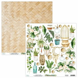 "Papel 12x12"" Mintay Col. Urban Jungle Elements"