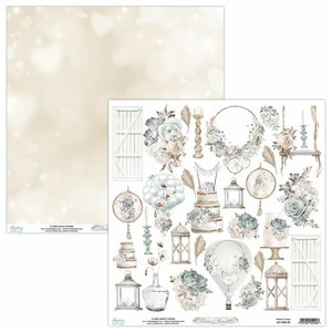"Papel 12x12"" Mintay Col. Precious Moment Elements"