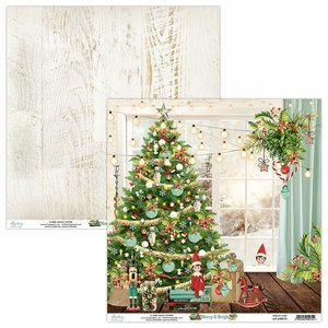 "Papel 12x12"" Mintay Col. Merry & Bright 01"