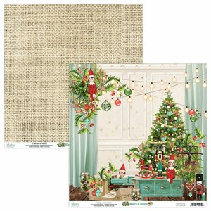 "Papel 12x12"" Mintay Col. Merry & Bright 03"
