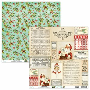 "Papel 12x12"" Mintay Col. Merry & Bright 04"