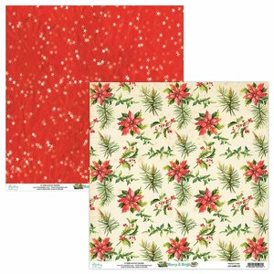 "Papel 12x12"" Mintay Col. Merry & Bright 05"