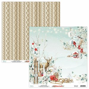 "Papel 12x12"" Mintay Col. Winterland 01"
