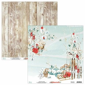 "Papel 12x12"" Mintay Col. Winterland 03"