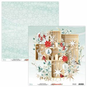 "Papel 12x12"" Mintay Col. Winterland 04"