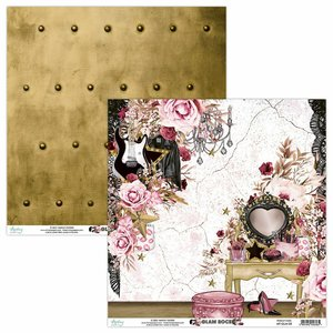"Papel 12x12"" Mintay Col. Glam Rock 03"