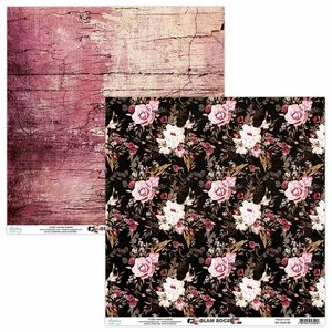 "Papel 12x12"" Mintay Col. Glam Rock 05"