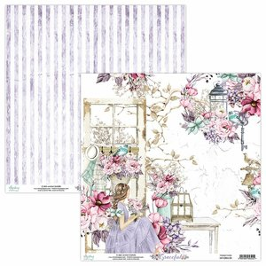 "Papel 12x12"" Mintay Col. Graceful 01"