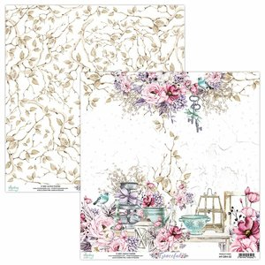 "Papel 12x12"" Mintay Col. Graceful 02"