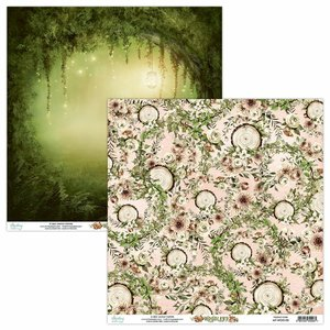 """Papel 12x12"""" Mintay Col. Woodland 05"""
