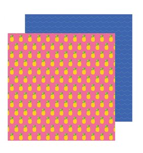 "Papel 12""x12"" Chasing Adventures Pineapple Crush"