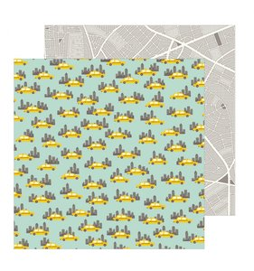 "Papel 12""x12"" Chasing Adventures Big City"