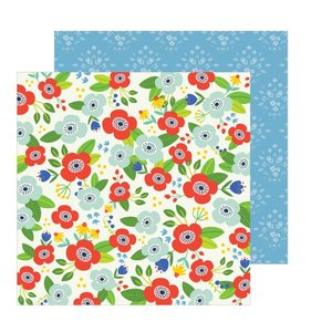 "Papel 12""x12"" Chasing Adventures Flower Market"