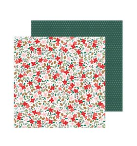 "Papel 12""x12"" Merry Little Christmas Deck The Halls"