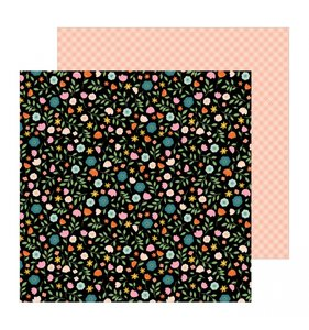 """Papel 12""""x12"""" This is Family Flower Patch"""