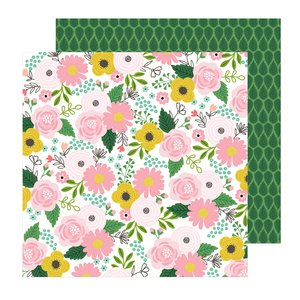 """Papel 12""""x12"""" Lovely Moments Bouquet"""