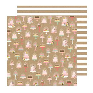 """Papel 12""""x12"""" Lovely Moments Just Dessert"""