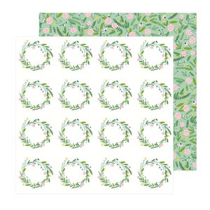 """Papel 12""""x12"""" Lovely Moments Sprigs"""
