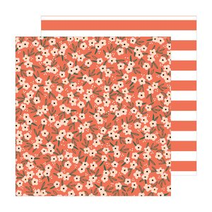 "Papel 12x12"" Poppy PL of The Avenue by Jen Hadfield"
