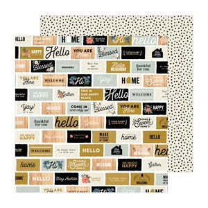 "Papel 12x12"" Welcome Home of The Avenue by Jen Hadfield"