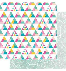 Triangle blocks/Circle abstract
